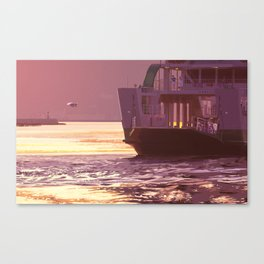memories of gone summer [Loss of the departure] Canvas Print