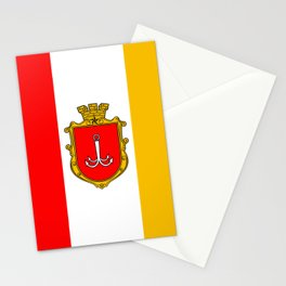 flag of Odessa or odesa Stationery Cards