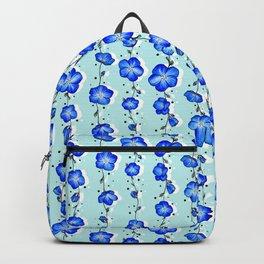 Baby Blue Wildflower Backpack