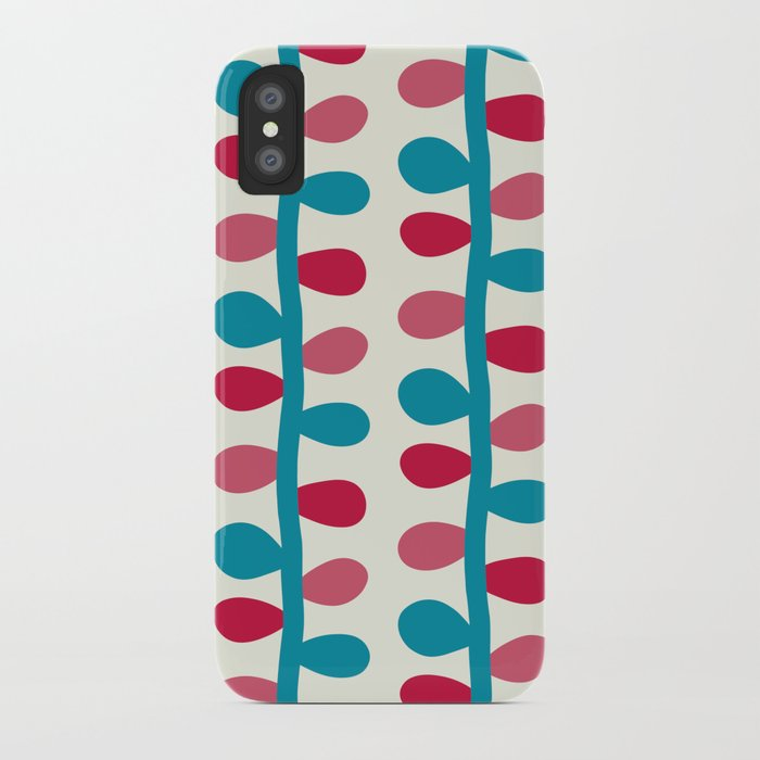 Like a Leaf [colours] iPhone Case