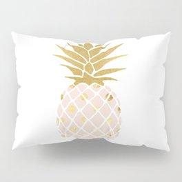 pink & gold pineapple Pillow Sham