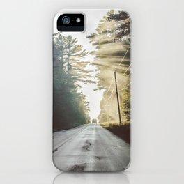 Roadside Beams iPhone Case