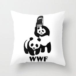WWF Throw Pillow