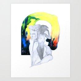 Girl/Boy Art Print