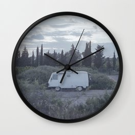 Heroes of the frontier Wall Clock