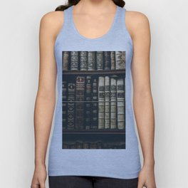 BOOKS - SHELF - PHOTOGRAPHY Unisex Tank Top