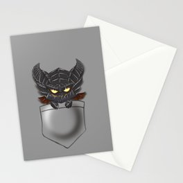 Dragon Pocket Tee Stationery Cards