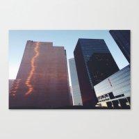 houston Canvas Prints featuring Houston by Jorieanne