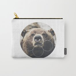 Big Bear Buddy - Geometric Photography Carry-All Pouch