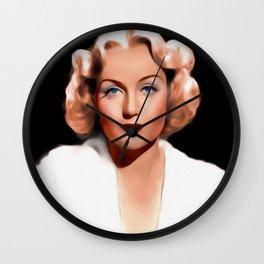 Carole Lombard, Hollywood Legend Wall Clock