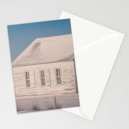 Winter, Galpin Church, Montana 4 Stationery Cards