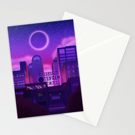 Behind the Market Stationery Cards
