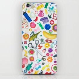 Beach Trash Collage iPhone Skin