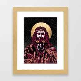 Totes-My-Goats Framed Art Print