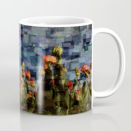 Champ de Tulipes Mosaïque Coffee Mug