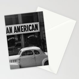 I Am An American Photo Dorothea Lange Stationery Cards