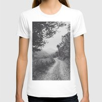 road T-shirts featuring ROAD by Yigit C.