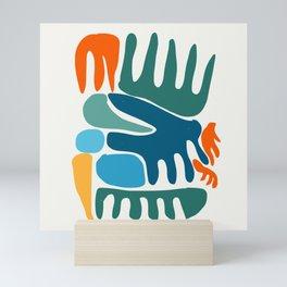 Spring Colors Joyful Art Pattern Abstract Mini Art Print