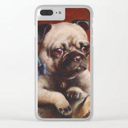 The Pug - Carl Reichert Clear iPhone Case