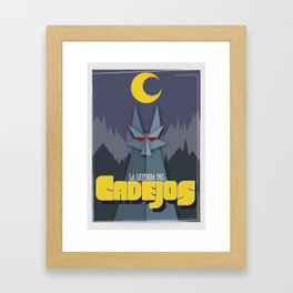 Cadejos Framed Art Print