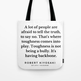 48   |  Robert Kiyosaki Quotes | 190824 Tote Bag