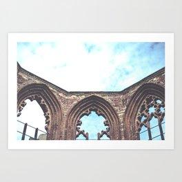 Sky Ruin Art Print