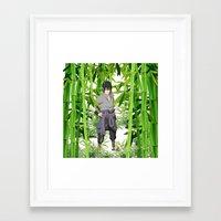 sasuke Framed Art Prints featuring Sasuke by tanduksapi