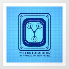 Capacitor Art Print