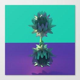 Balanced Lotus Canvas Print