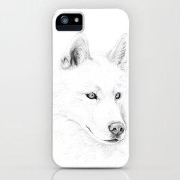 Saber :: A Siberian Husky iPhone Case