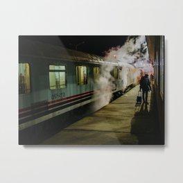 Trans Asia Express, Iran Metal Print