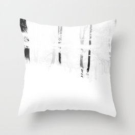 Forest I Throw Pillow