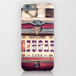 AZUCAR - CUBA LIBRE 2019 - Angel Torres iPhone Case