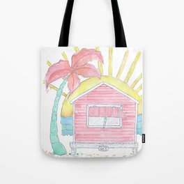 Beach Shack Vibes Tote Bag