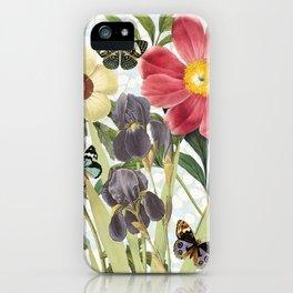 Flower Power Butterflies iPhone Case