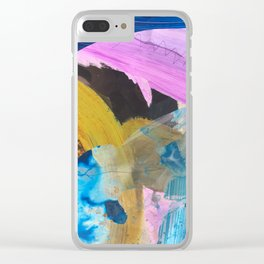 Impasto Clear iPhone Case