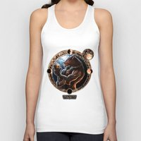 werewolf Tank Tops featuring WEREWOLF by TheMagicWarrior