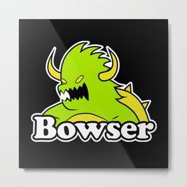 Bowser Metal Print