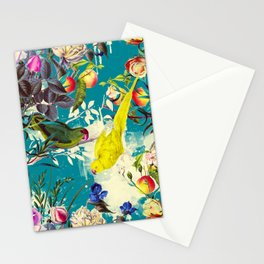 Tropical birds in the nature - 010 Stationery Cards