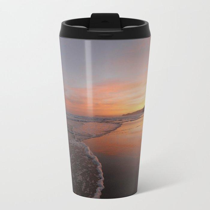 Last light at Dusk Metal Travel Mug