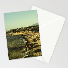 Malia beach Stationery Cards