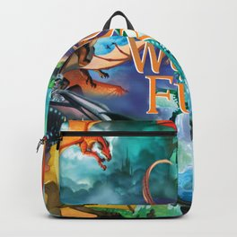 Wings Of Fire Painting Backpack