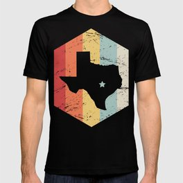 Retro Vintage Texas Icon - Austin Capital T-shirt