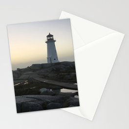 Lighthouse Calm Before the Storm Stationery Cards