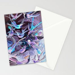 Ode to Haeckel's Hummingbirds Stationery Cards