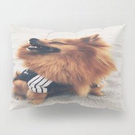 Beach Life Pomeranian Pillow Sham