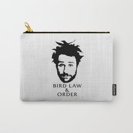 Charlie's Bird Law & Order Carry-All Pouch