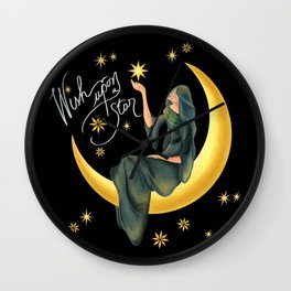 Wish upon a star Wall Clock