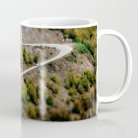 road Mugs featuring Road by PhotoStories