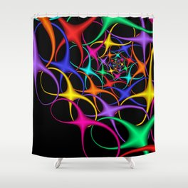 another crazy pattern -103- Shower Curtain
